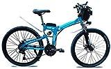 Bicicletas Eléctricas, Bicicleta plegable eléctrico for adultos urbanos de cercanías E-bici Ciudad de bicicletas 1000w 48v 13Ah del motor y la batería de litio velocidad máxima de 35 km / h Capacidad