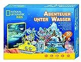 National Geographic KiDS (Sachbuch) - Abenteuer unter Wasser - 3D Puzzle mit Box incl. Buch