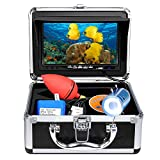 Anysun Underwater Fish Finder - Professional Fishing Video Camera with 7' TFT Color LCD HD Monitor...