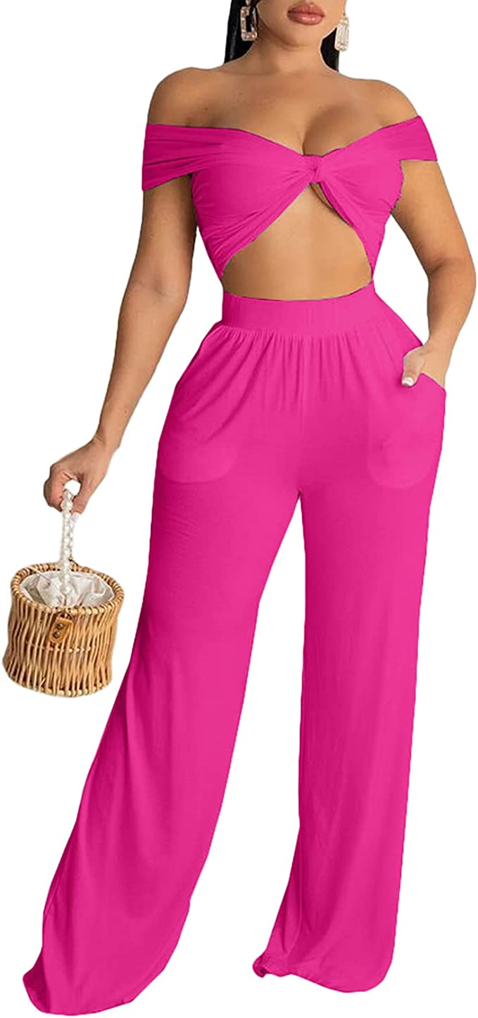 AOMONI Track Suits For Women Set - Casual Two Piece Outfits Sweatsuit Sexy Set