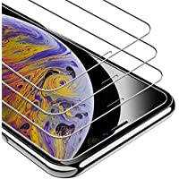 UNBREAKcable Protector de Pantalla de Vidrio Templado para iPhone XS MAX, 3 Unidades, dureza 9H, 2.5D, 3D Touch, antiburbujas, antiarañazos (Cristal blindado para iPhone XS MAX)