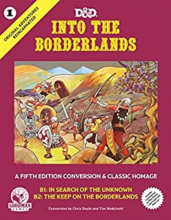 Dungeons & Dragons Original Adventures: Into the Borderlands (DnD 5th Edition)