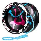 MAGICYOYO Yoyo Sensible V3, Yoyo de Aluminio para niños Principiantes, Yoyo Sensible con rodamiento Que no responde + Herramienta de extracción de rodamiento + Bolsa + 5 Cuerdas de yoyo