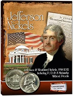 By Staff of Zyrus Press Jefferson Nickels Album, 1938-2012 P&D (Cornerstone Coin Albums) (1st First Edition) [Board book]