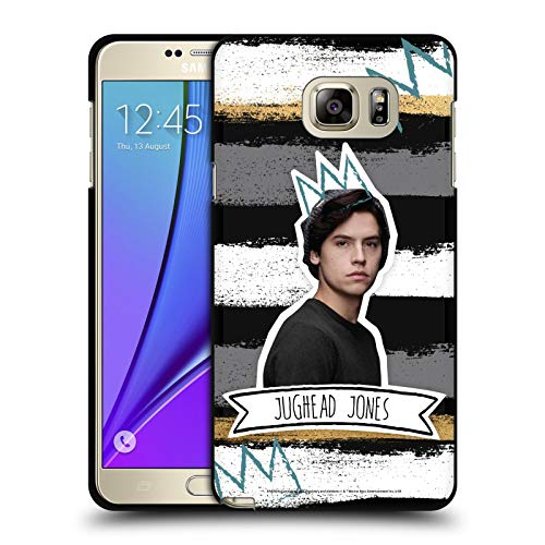 Head Case Designs Officially Licensed Riverdale Jughead Jones Graphics Black Soft Gel Case Compatible with Samsung Galaxy Note5 / Note 5