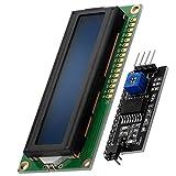 AZDelivery Modulo Pantalla LCD Display Azul HD44780 1602 con Interfaz I2C 16x2 caracteres ...