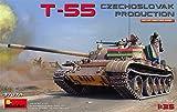 ミニアート 1/35 T-55 チェコスロバキア製 プラモデル MA37074