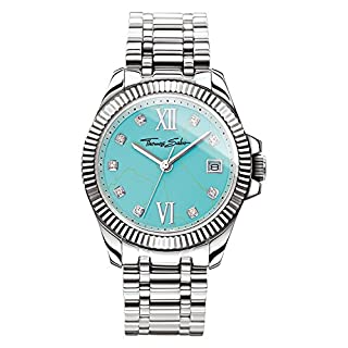 Thomas Sabo Unisex ErwachseneArmbanduhr Analog Mechanik Edelstahl WA0317-201-215-33 (B0795B5SJY) | Amazon price tracker / tracking, Amazon price history charts, Amazon price watches, Amazon price drop alerts
