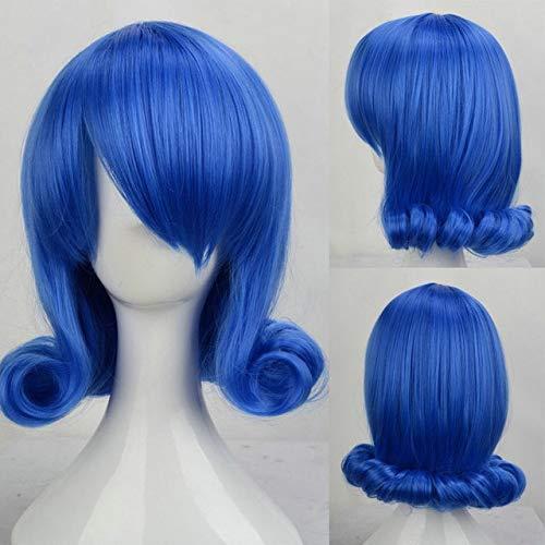 Japanischer Anime FAIRY TAILFrauen Juvia Loxar Cosplay Perücke Rollenspiel Juvia Loxar blau gestylte Haar Perücke Kostüme One Size blau