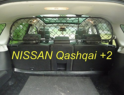 ERGOTECH Trennnetz Trenngitter Hundenetz Hundegitter für Nissan Qashqai +2