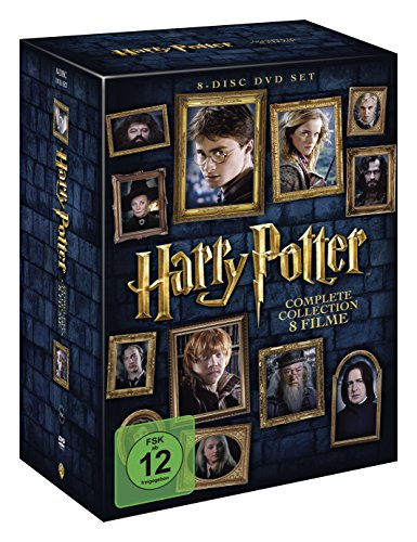 Harry Potter Complete Collection - 8 Filme [8 DVDs]