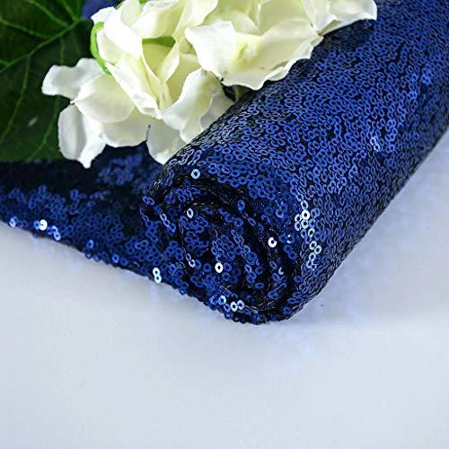 Tela Tela azul Tela de lentejuelas 1 yarda Materiales para coser Tela para cortinas Tela de lino Tela para niños Tela azul marino Cortador de tela Vestido de tela Mantel Material azul Tela
