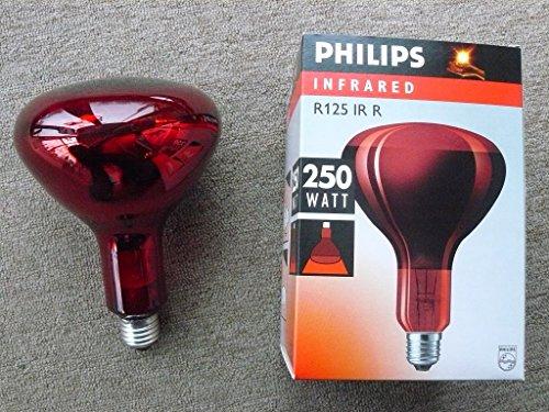Philips Infrarotstrahler R125 Red, E27, 250W