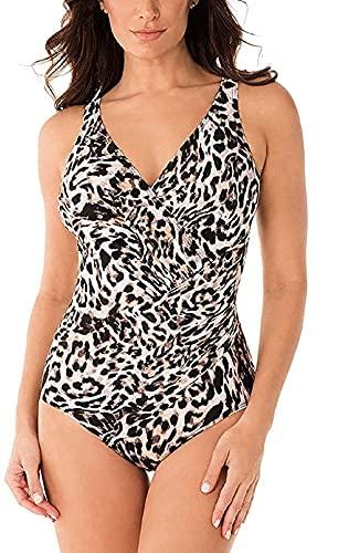 미라클슈트 여성 슬림화 숭고한 펠린 오세아니아 원피스 수영복(16) 브라운