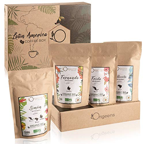 ☘️ CAFE GRAIN 1kg BIO | Café en Grain Arabica | Coffret café dégustation, Torréfaction...