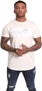Rose London S/S Cut n Sew Panel T-Shirt Stone