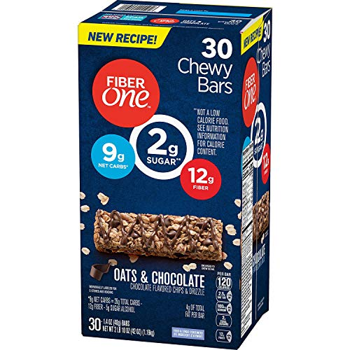 Fiber One Chewy Bars Oats and Chocolate
