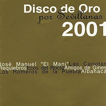 Disco de Oro por Sevillanas 2001