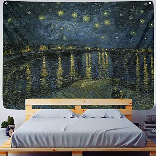 MIASDUANFA tapizPintura Impresa decoración de la Sala de Estar Tapiz Colgante de Pared Estera de Yoga Alfombra decoración del hogar Arte