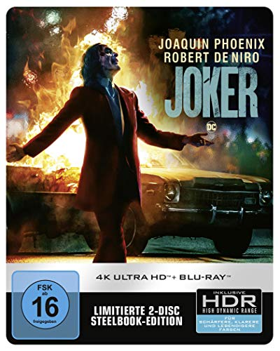 Joker 4K UHD + 2D Steelbook [Limited Edition] [Blu-ray]