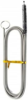Long Flexible Refrigerator Scrub Brush, Kitchen Foldable Sewer Drain Cleaning Brush Nylon Bristle Tip, 61Inches Long, 3/8 ...