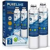 Pureline DA29-00020B Water Filter Replacement. Compatible Samsung Models: DA29-00020B, Haf-Cin/Exp, DA29-00020B-1, RF4267HARS, RF28HFEDBSR, RF28HMEDBSR, and Many More Samsung Models -PURELINE (2 Pack)