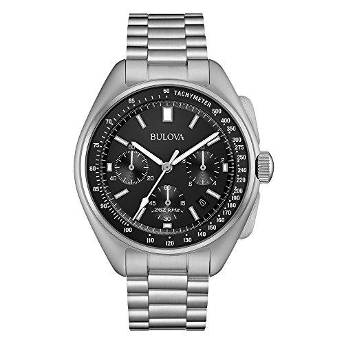Bulova Mens edizione speciale luna cronografo in acciaio inox 96B258