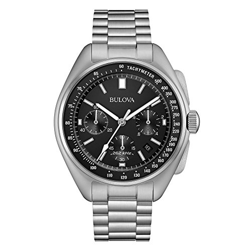 Bulova Special Edition Moonwatch Precisionist - Herrenchronograph - silber