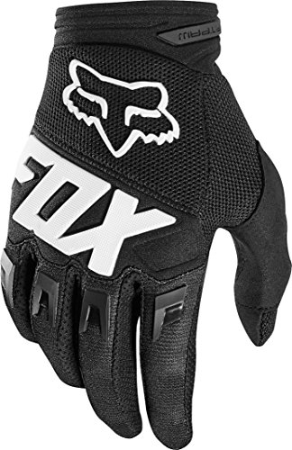 Fox Racing Dirtpaw Race Men's Off-Road Motorcycle Gloves - Black/Medium