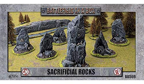 Battlefield in a Box: Sacrificial Rocks 6pcs