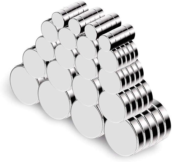 479 opinioni per 100 Pezzo Magneti Forti neodimio Potente Magnete , Calamite da Frigo,Piccoli &