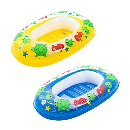 Bestway Opblaasbare rubberboot voor kinderen Kiddie Raft, 102 x 69 cm, gesorteerd