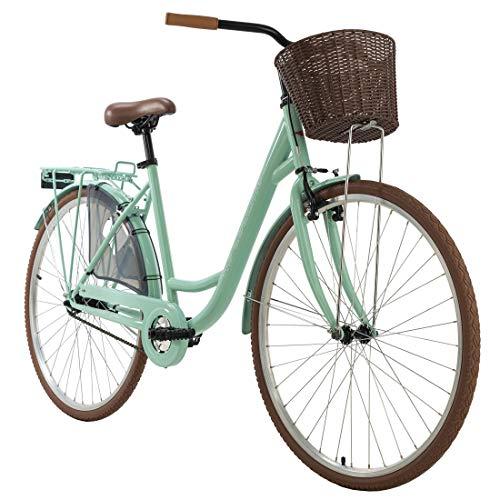 KS Cycling Damenfahrrad 28'' Zeeland Mint singlespeed RH 48 cm