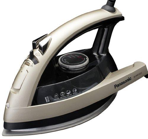 Panasonic NI-W810CS Multi-Directional Steam/Dry Iron with Ceramic Soleplate, MEDIUM, Black