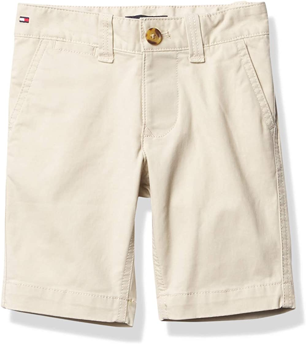 Tommy Hilfiger Adaptive Tommy Hilfiger Boys Adaptive Shorts with Velcro Brand Closure Fly