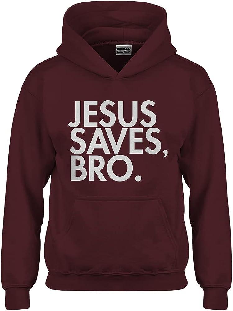 Jesus Saves Bro Youth Unisex Hoodie