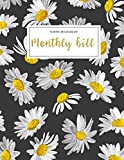Monthly Bill Planner and Organizer: family financial organizer | 3 Year Calendar 2020-2022 My monthly bill planner with income list,Weekly expense ... Flower design (Financial Planner Budget Book)