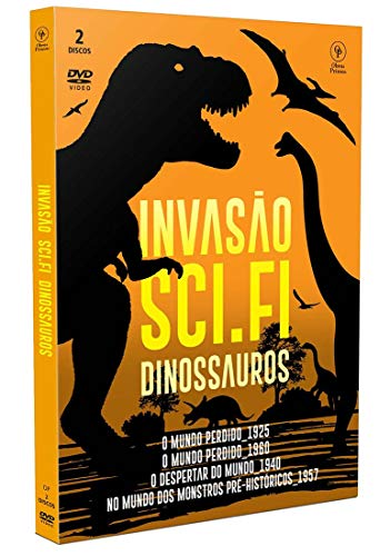 Invasão Sci-Fi - Dinossauros [Digipak com 2 DVD's]