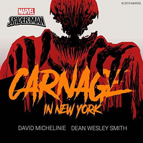 Spider-Man: Carnage in New York audiobook cover art