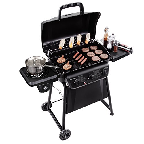Char-Broil Classic 360 3-Burner LP Gas Grill with Side Burner