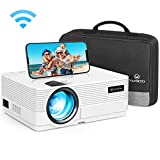 WLAN Beamer 5000 Lumen, VANKYO Leisure 470 Wireless Beamer, Support 1080P Full HD Heimkino Beamer, kompatibel mit TV Stick, HDMI, SD, AV, VGA, USB, PS4, X-Box, iOS/Android Smartphone Projektor
