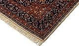 Lifetex.eu Teppich Keshan ca. 120 x 175 cm Beige handgeknüpft Schurwolle Klassisch hochwertiger Teppich - 2