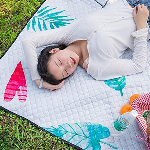 WHBGKJ Manta de Picnic Picnic Plegable Manta jardín al Aire Libre Camping...