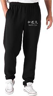 T-Shirtshock Pantalons de Survetement Courts Noir TAM00001 Krav MAGA Arti Marziali