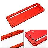 Ulofpc Carpintería Herramientas manuales de mano Mesa eléctrica Sierra circular Mesa de aleación de aluminio Placa de cubierta