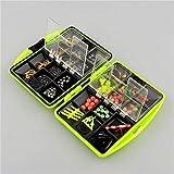 Generic Brands Leurres boîte Crochets Jig émerillons Crochets de pêche Accessoires Assortis pêche Tackle Set Tackle Box