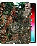 para la Cubierta de la Caja de iPad Mini4 de 7.9 Pulgadas, Cubierta de Concha Delgada de la Caja de Buda cómoda para iPad iPad Mini4