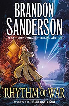 Rhythm of War by Brandon Sanderson science fiction and fantasy book and audiobook reviews