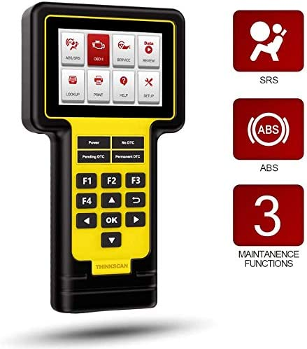 thinkcar ThinkScan 600 OBD2 Scanner Lifetime Free ABS SRS Scanner with Oil Brake TPMS Reset product image