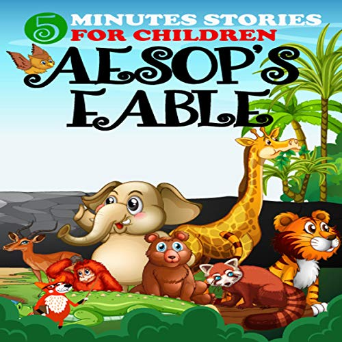 『5 Minutes Stories Aesop's Fables』のカバーアート